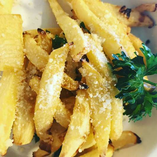 Rutabaga Parm Fries